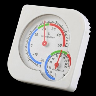 Комнатный мини термометр гигрометр измеритель температуры