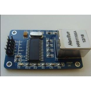 ENC28J60 Ethernet LAN сетевой модуль, схема для Arduino AVR 51 LPC STM32