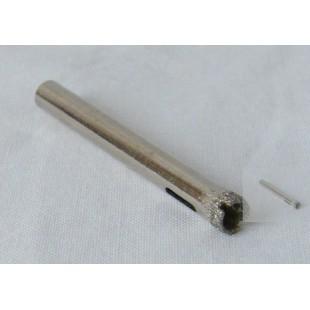 Алмазное сверло для сверления отверстий диаметром 6 мм в стекле