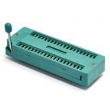 40 контактная ZIF панель с нулевым усилением и ручкой-фиксатором