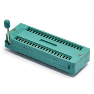 40  контактная ZIF панель с нулевым усилением и ручкой-фиксатором 40Pin ZIF ZIP DIP панелька