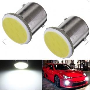 1 х Автомобильная светодиодная COB лампа BAY15S / 1156, 3Вт (белая)