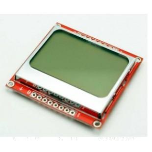 Графический дисплей Nokia 5110 разрешение 84 Х 84 точек.