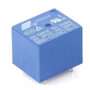 Реле электромагнитное SRD-12VDC-SL-C - 12В, 10A 250VAC