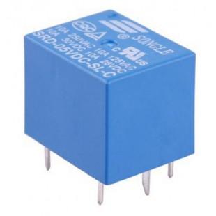 Реле электромагнитное SRD-5VDC-SL-C  5В, 10A 250VAC