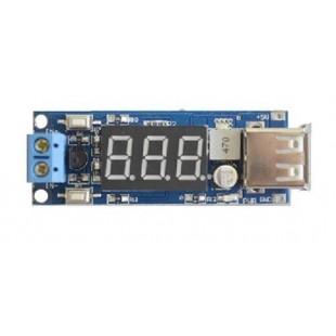 Зарядка для USB гаджетов с встроеным вольтметром 5V-2A