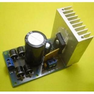 Набор для сборки блока лабораторного блока питания  на основе  LT1083 Мощный блок питания на (Радиоконструктор)
