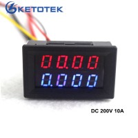 Цифровой вольтметр амперметр постоянного тока 200 В 10A