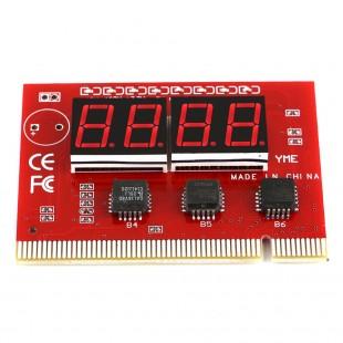 Компьютерный анализатор неисправностей метринских плат 4 LED,  Диагностический тестер