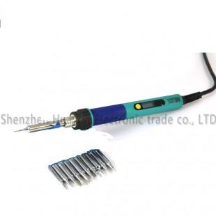 CXG 936d электрический паяльник с регулятором напряжения  220 В 60 Вт с 10 сменными жалами