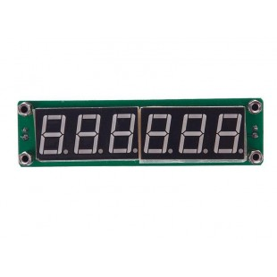 Цифровой частотометр 0.1МГц - 65МГц с синими светодиодами
