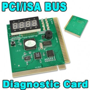 PCI и ISA Диагностическая пост карта с 4-разрядным дисплеем