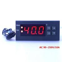 Цифровой регулятор температуры 10 Aмпер 220 Вольт MH1210W термостат