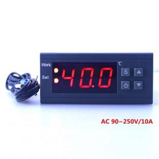 Цифровой регулятор температуры MH1210W 90-250 В 10A 220 В с датчиком-50 ~ 110C для отопления, охлаждения  и т д