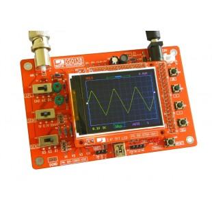 Цифровой осциллограф DSO138 в виде набора для самостоятельной сборки.