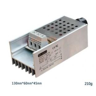 10000 Вт SCR Напряжение регулятор Скорость контроллер Диммер термостат AC 220 В