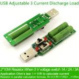 USB нагрузочный резистор 5V1A-2A-3A