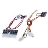 Переходник для внешнего блока питания Pico PSU DC-ATX-160W Пико ATX Выключатель БП Авто ITX Блок Питания 160 Вт 12 В #60150