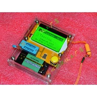 Универсальный тестер радиокомпонентов  Измеритель ESR R/C/L и тестер полупроводников С КОРПУСОМ