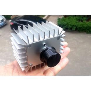 AC 220 В 5000 Вт SCR Регулятор напряжения, Диммер, Регулятор скорости двигателя