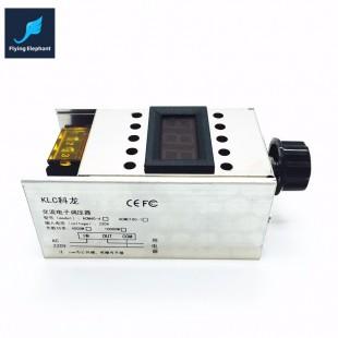 220В 4000 Вт Диммер высокой мощности SCR BTA41-600B Электронный регулятор напряжения + Цифровой дисплей