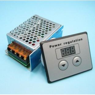 LED Дисплей AC 220 В 4000 Вт scr Регулятор напряжения, диммер, регулятор термостата