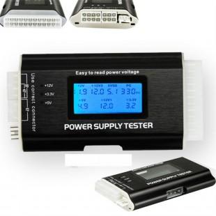 ЖК Тестер компьютерных блоков питания 20/24 контактный SATA HDD ATX BTX