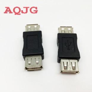 1 шт. USB 2.0  мама мама адаптер разъем female female