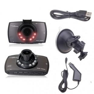 1080P HD авто DVR видеорегистратор LCD экран G-sensor с ночным видением  G30