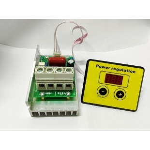 AC 220 В 10000 Вт SCR Регулятор напряжения, скорости двигателя,  диммер