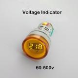 AC 60-500 В LED вольтметр красный желтый зеленый  белый синий