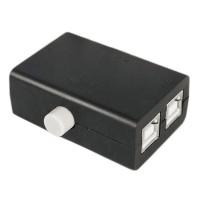 Мини 2-х портовый USB переключатель для принтера, сканера и других устройств