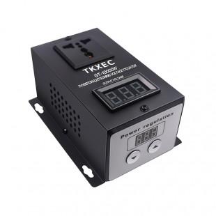 AC 220 V 10000 W SCR Электронный регулятор напряжения Температура Скорость Регулируемый контроллер регулятор света термостат