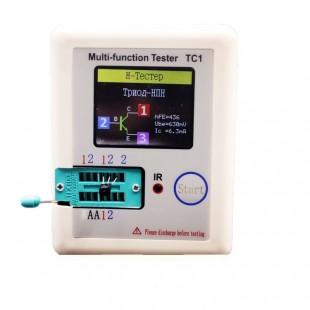 Русская прошивка |Транзисторный тестер, Диод ,Триод, измеритель емкости LCR ESR NPN PNP MOSFET ИК-измеритель