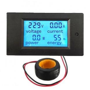 AC 80-260 100A амперметр; вольтметр