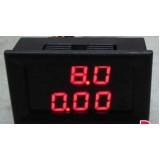 DC 0-100V 10A Светодиодный цифровой вольтметр и амперметр.