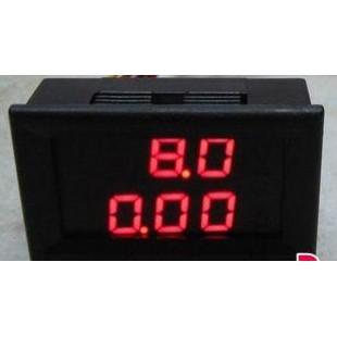 DC 0-100V 10A Светодиодный цифровой вольтметр и амперметр 2 в 1