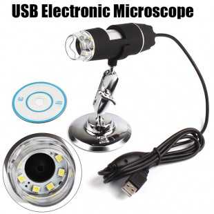 2 mp USB цифровой микроскоп с подсветкой 1000X, Разрешение полученного изображения 1600x1200