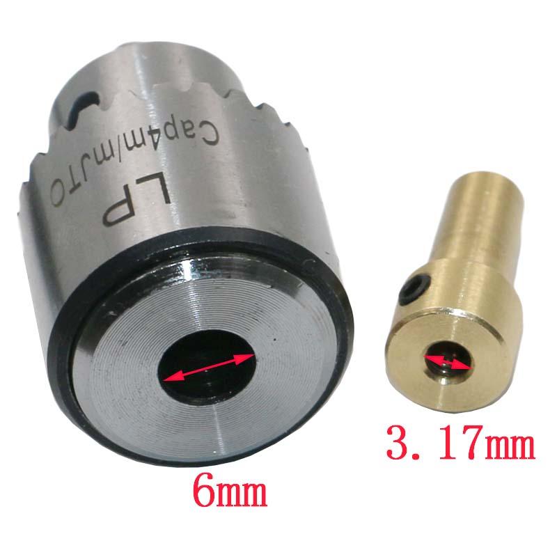 Micro Двигатель дрель Зажимы S зажима 0.3-4 мм JT0 конус установленный дрель Зажимы с Зажимы ключ 3.17 мм латунь Мини электрические Двигатель вал