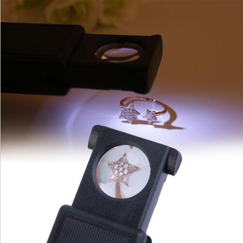Складная лупа с автоматической подсветкой